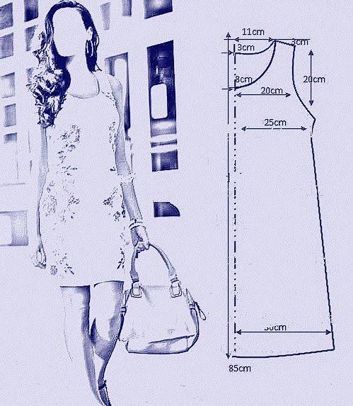 vamos combinar: Moldes vestidos