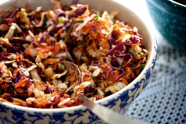 asian inspired coleslaw | Yummy!!! | Pinterest