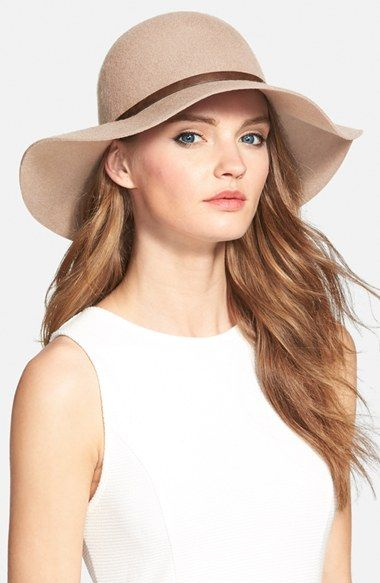 Nordstrom Floppy Wool Hat available at #Nordstrom