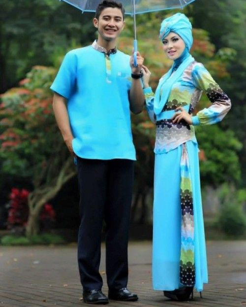 Baju Muslim Batik Keluraga 5 Orang: 126 Best Images About Busana Muslim On Pinterest