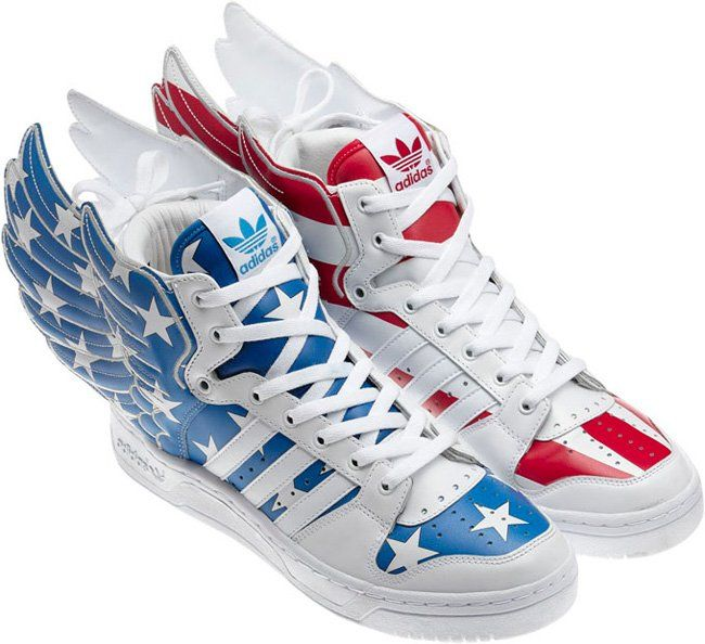 Emergency Fashionable Official Adidas Obyo Jeremy Scott Bones Shoes White Green Canada Women M14p177