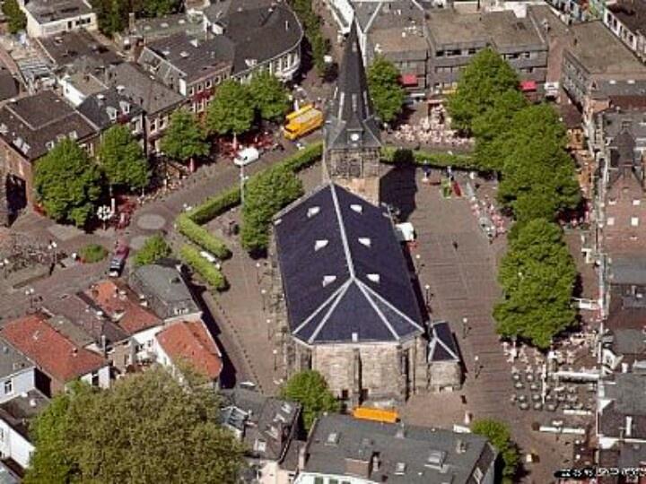 Oude markt Enschede NL