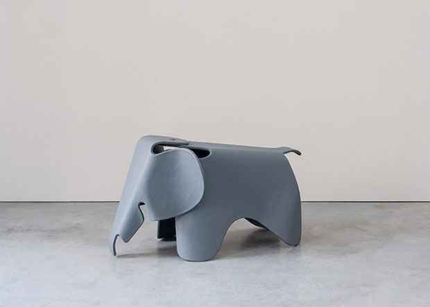 Vitra - Eames - elephant - toy - chair - seat - child - children - junior - polypropylene - furniture - blue