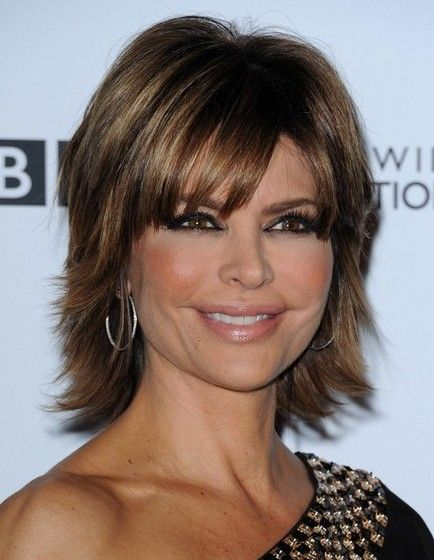 medium hairstyles with bangs for women - Bing Images
