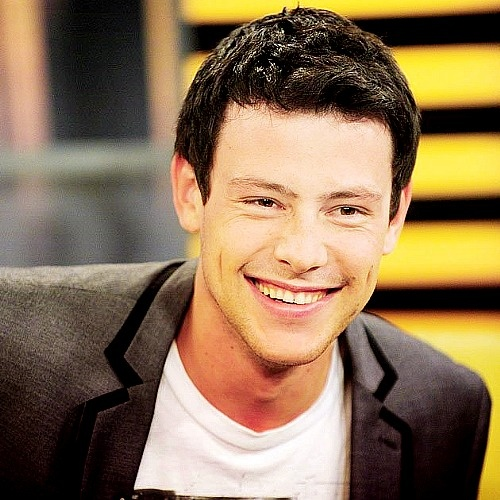 The one and only Cory Monteith. I mean, just look at that smile!  It will be forever missed...<3