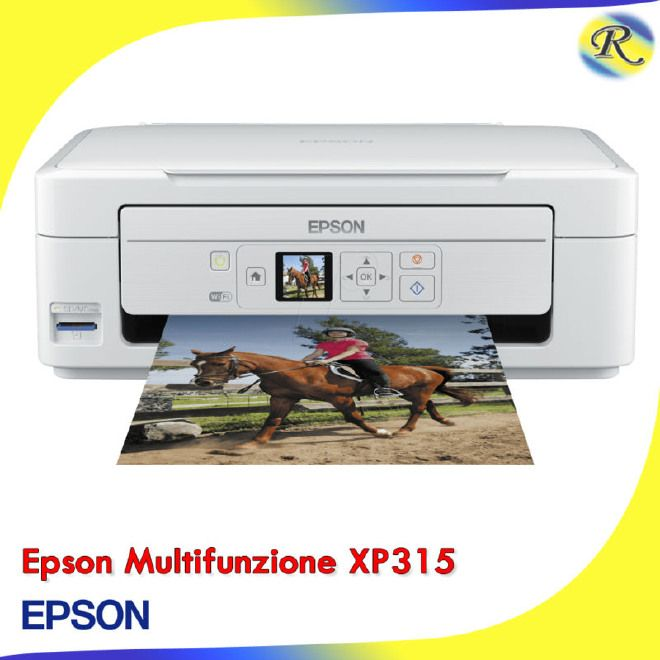 Stampante Epson Expression HOME XP-315 XP315 XP 315 multifunz. + WiFi Scan
