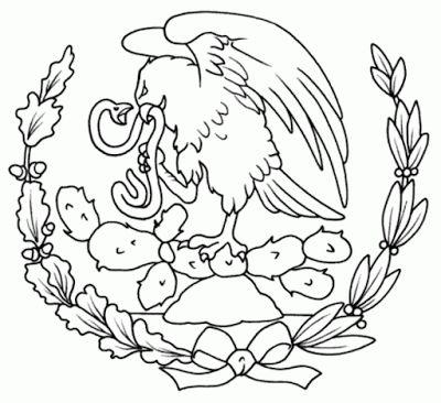 Colorear el Dibujo: México para colorear | Dual language Resources ...