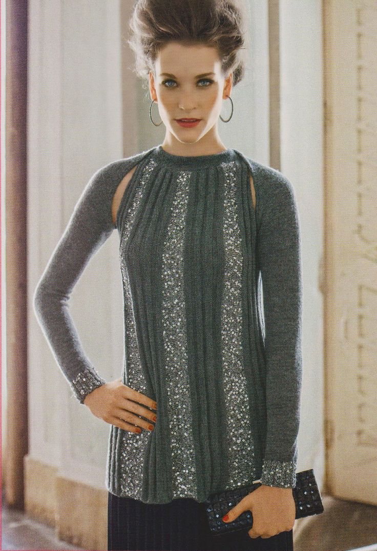 p. 40/41, Mani di Fata December 2013 (knitting pattern)