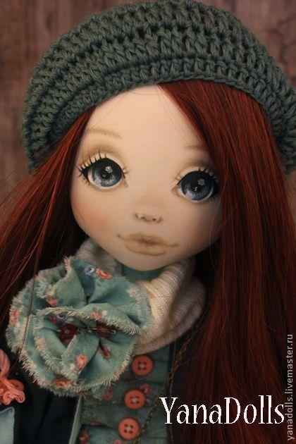 Коллекционные куклы ручной работы. Николь. YanaDolls. Ярмарка Мастеров. Подарок девушке, текстиль, кожа натуральная