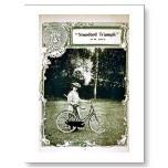 Triumph Cycles1907 - No. 24 Standard de señora Tarjetas Postales