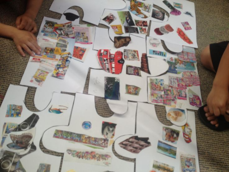 All about me jig saw puzzle