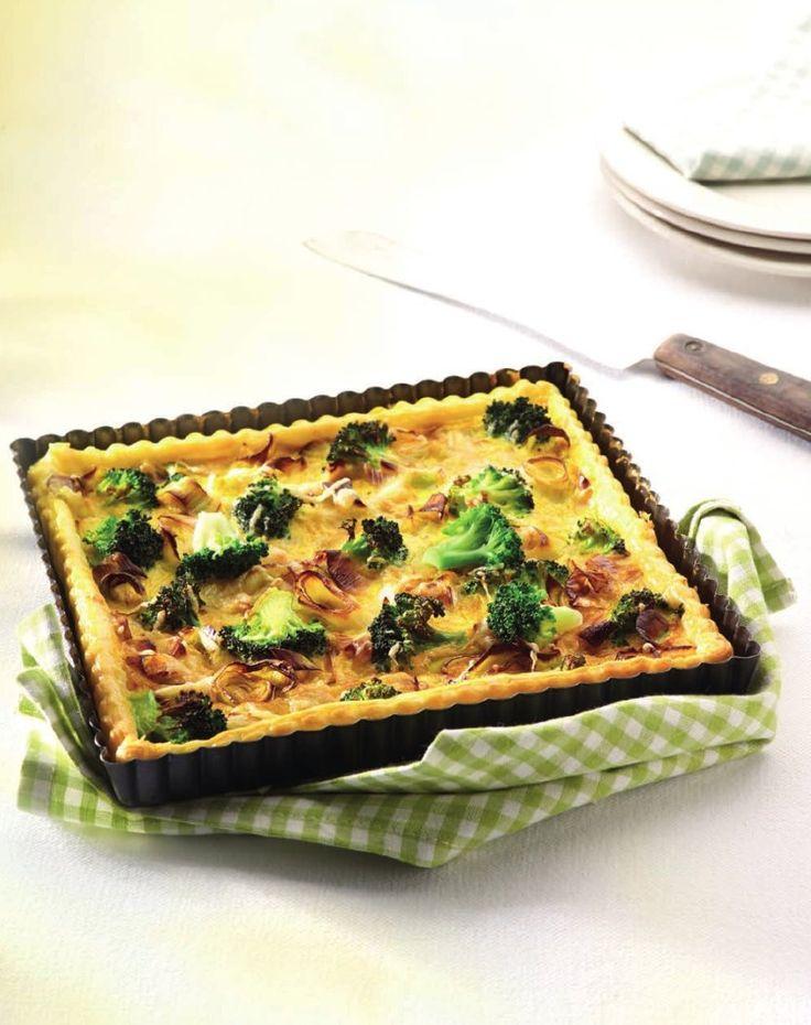 Broccoli-preitaart http://www.njam.tv/recepten/broccoli-preitaart