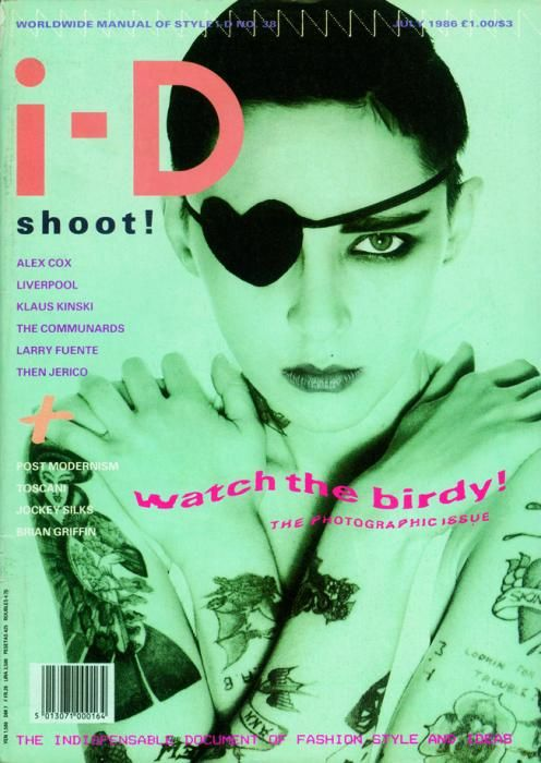 The Photographic Issue No. 38 July 1986 Ann Scott by Nick Knight