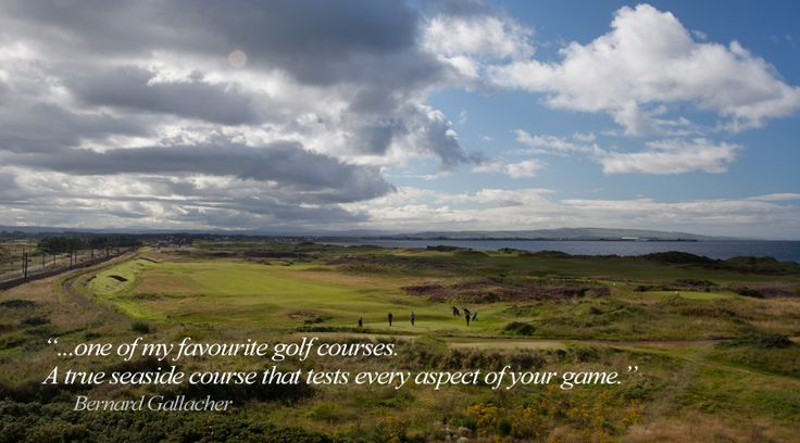 The Western Gailes Experience : Western Gailes Golf Club, Ayrshire, Scotland.