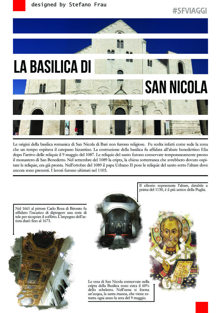 A simple layout for your travel magazine. Designed by Stefano Frau / Una idea para tu revista de viajes