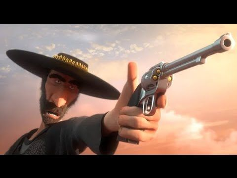 """CGI Animated Shorts HD: """"A Fistful of Presents"""" by - Cole Clark"""