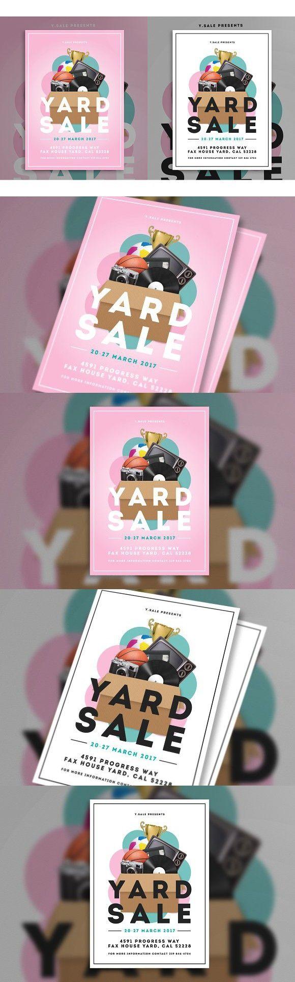 Garage Sale Flyer. Flyer Templates