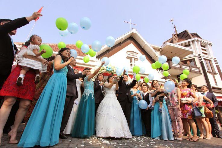 the Ballon Wedding