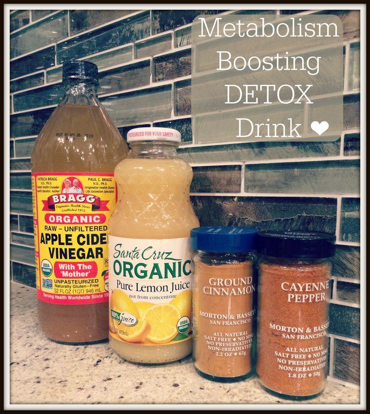 Metabolism Boosting Detox Drink!