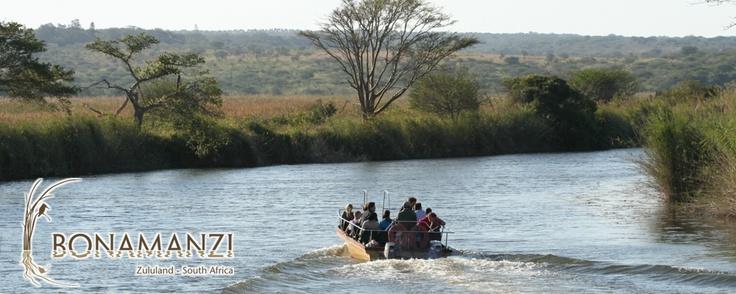 Birding Boat Cruises available at Bonamanzi Game Reserve