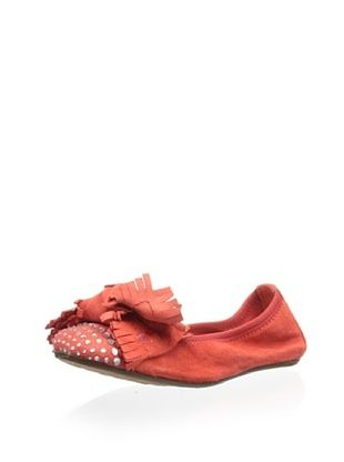 55% OFF Eli 1957 Kid's Ballet Flat with Bow (Java)