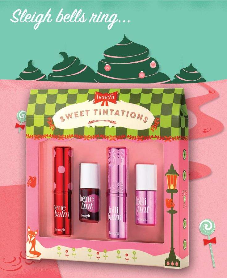 Repin to win a sweet tintations set  & post to Twitter with #benesweetshoppe on 19th Dec
