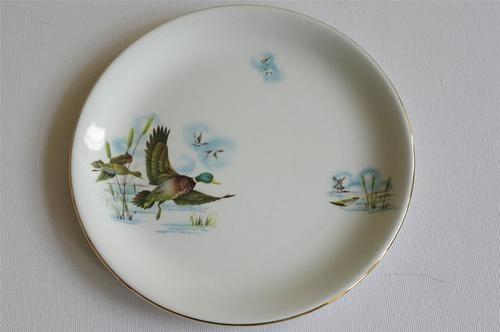Alfred Meakin Fenland Flying Ducks, Side Plates.