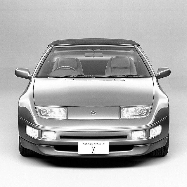 """Some things do get better with age. #300ZX #FairladyZ #Z32 #TueZday #1989"""
