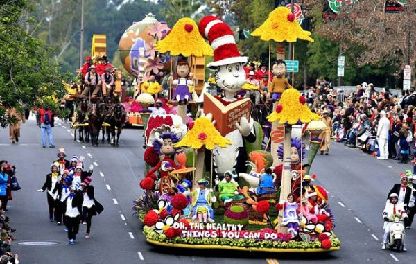 """Going to 2014 Rose Parade themed """"Dreams Come True"""""""