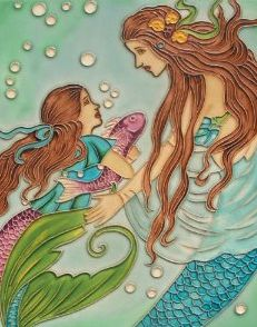 Mermaid showing her love<3