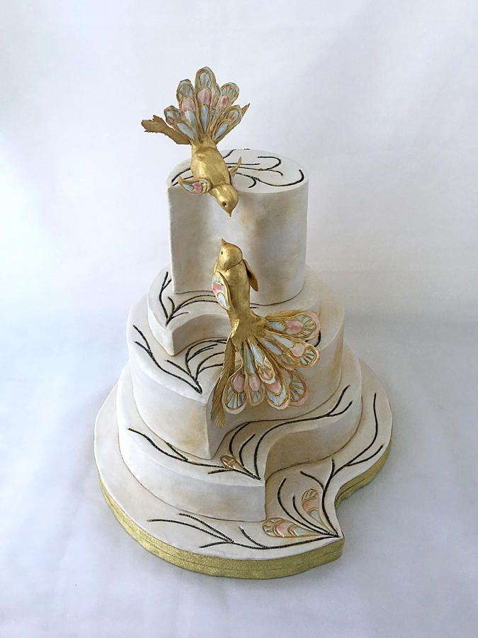 Guo Pei inspired cake by Marina Danovska