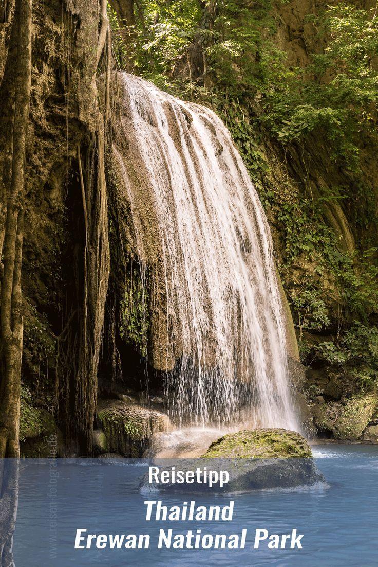 Der Erewan National Park bedeutet Urwald, Wasserfälle, Wasserbecken in denen die Besucher schwimmen dürfen, während Fische an den Beinen herum knabbern. Ein Ausflug in diesen wunderschönen National Park, etwa eine Stunde westlich von Kanchanaburi gelegen, lohnt sich auf jeden Fall.