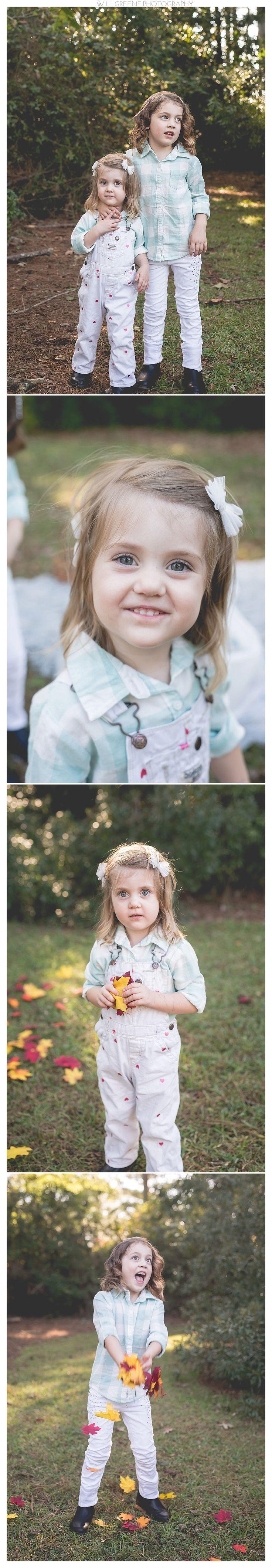 Jason, Heather, Emma, and Kaylee's family session, Farmville NC, Will Greene Photographer