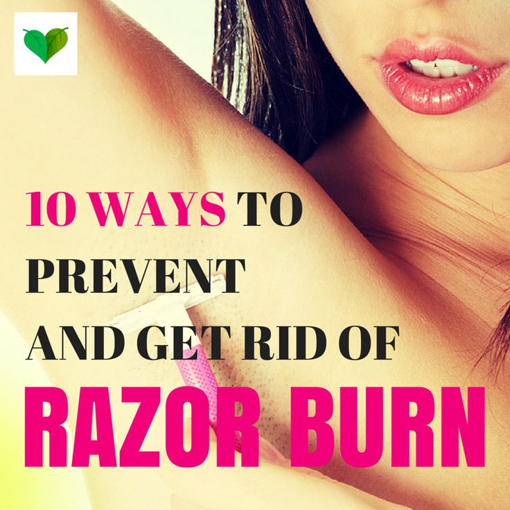 Razor burn is often caused by improper shaving technique and poor quality/worn down shaving supplies. Learn 10 ways to protect and soothe sensitive skin.