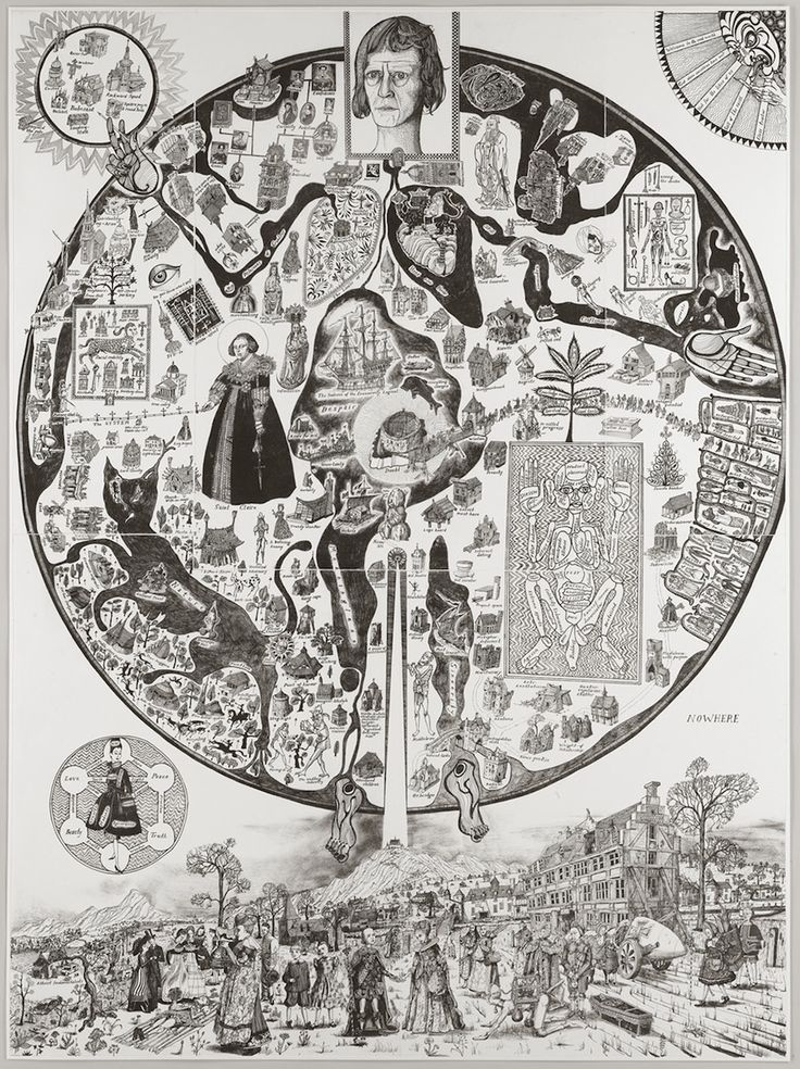 Map of Nowhere, Grayson Perry, 2008
