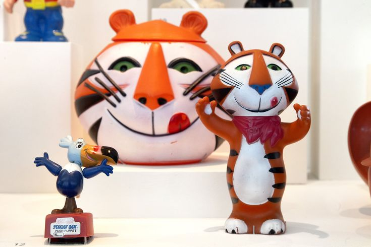 'A World of Characters': TV ad icons show at SFO Museum