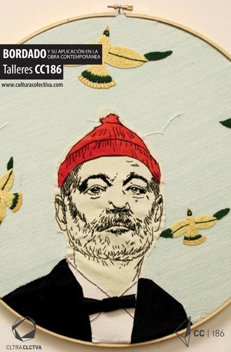 Cultura Colectiva te invita a su taller de técnicas de bordado aplicado a la obra contemporánea