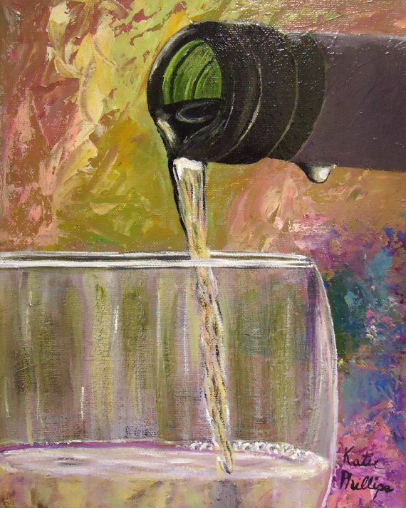 25 best ideas about wine painting on pinterest wine art for Acrylic paint on wine glasses
