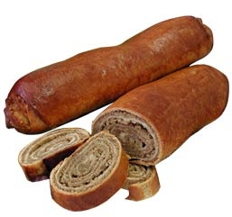Slovenian potica - is a sweet yeast bread roll with a moist walnut filling. In…