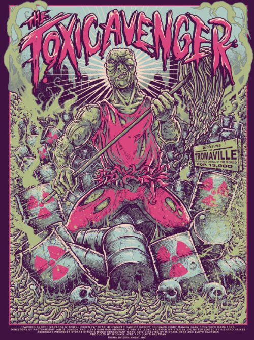 The Toxic Avenger by GODMACHINE | Tumblr | Store