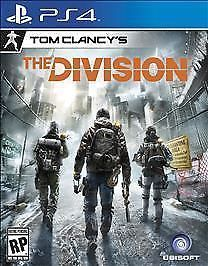 Tom Clancy's The Division -Sony PlayStation 4 PS4, 2016 New Game