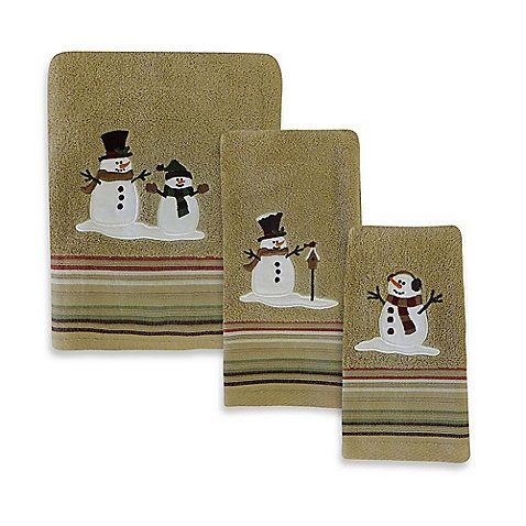Heartland Snowman Towel Collection 15 Holidays