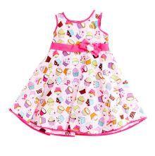 Φορέματα - Ρούχα Για Κορίτσια Για Πάρτι - Εκδύλωση :: Jelly Bean Kids Collection 2014 :: A Jelly Bean Kids Εντιπωσιακό Καλοκαιρινό Φόρεμα με Εμπριμέ Cup Cakes - MEMOIRS Νυφικά και Γυναικεία Φορέματα