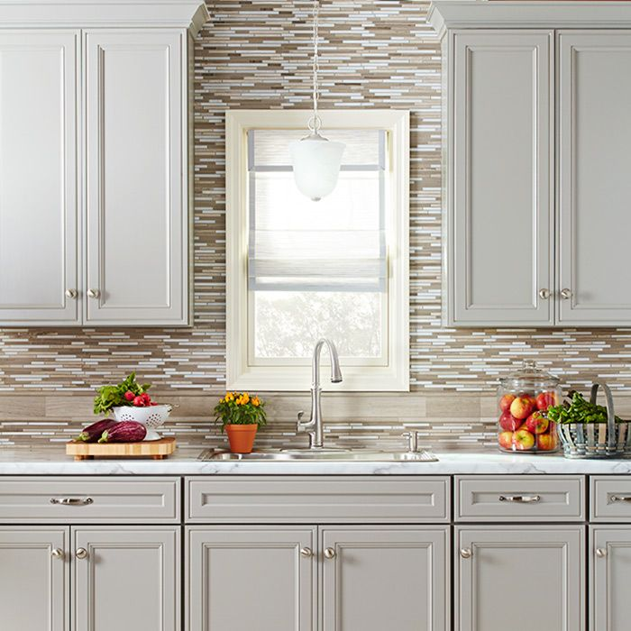 White Kitchen Cabinets Lowes: Gray Kitchen Cabinetry