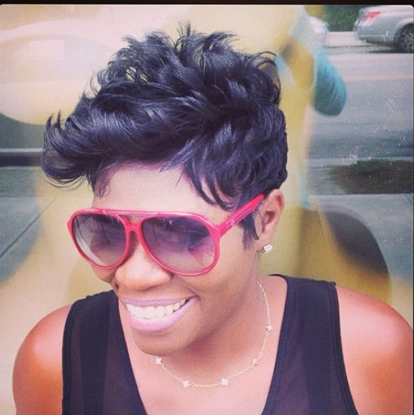 Beautiful, short hairstyle for African American women!