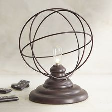 LED Explorer's Society Cordless Lamp with Bulb