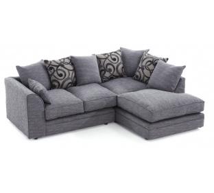 Darcy Fabric Corner Sofa
