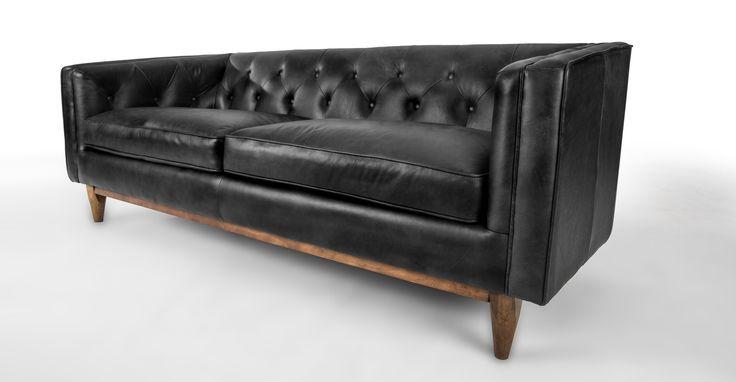 Alcott Charme Black Sofa - Sofas & Ottomans - Bryght | Modern, Mid-Century and Scandinavian Furniture