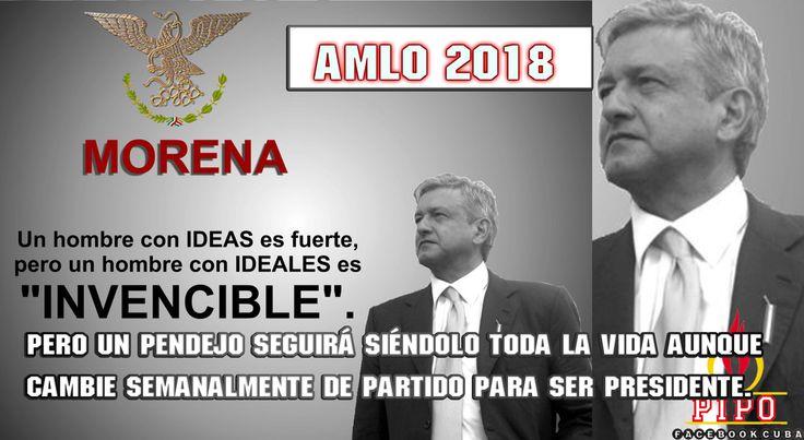 AMLO Un hombre con ideas.
