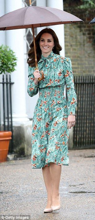 Kate was bed-bound for much of the year with severe morning sickness...